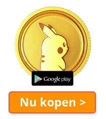 Pokémon Go tegoed kopen Google Play