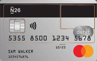 N26 - MasterCard Debit Card