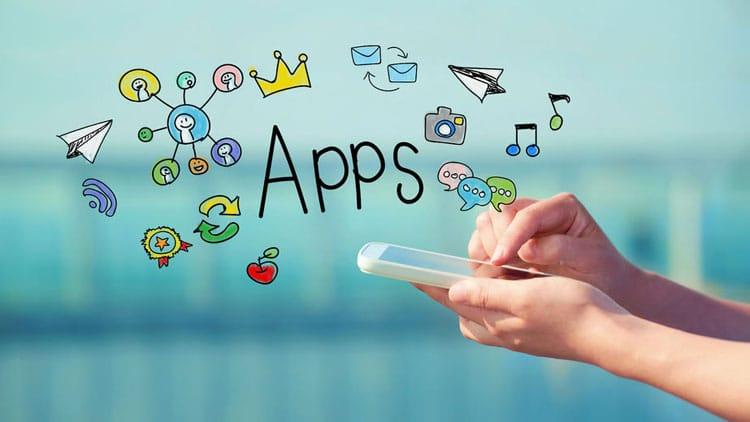 Betaal in Google Play of de iTunes App Store