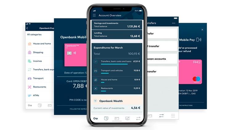 Beheer de betaalrekening via de app