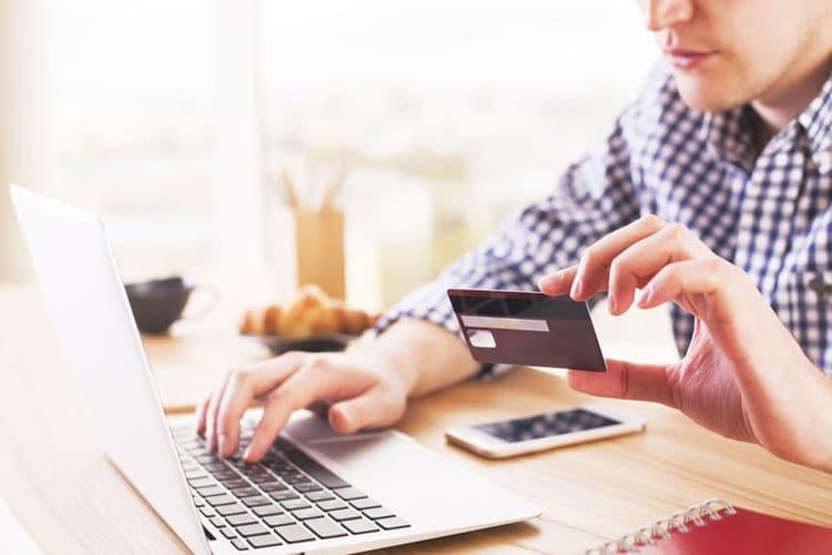 Winkelen met een debitcard